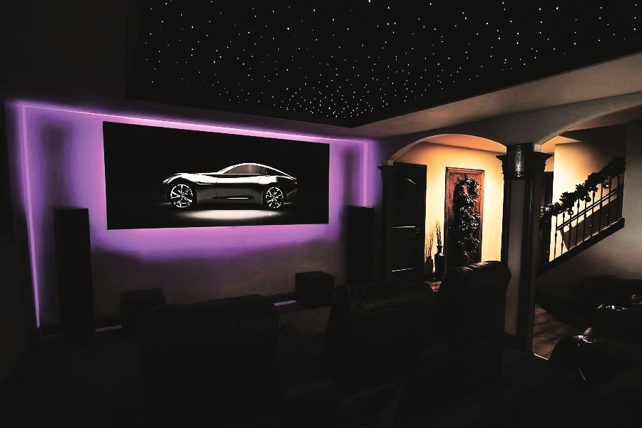 Take Advantage of a Multi-Purpose Home Theater Design