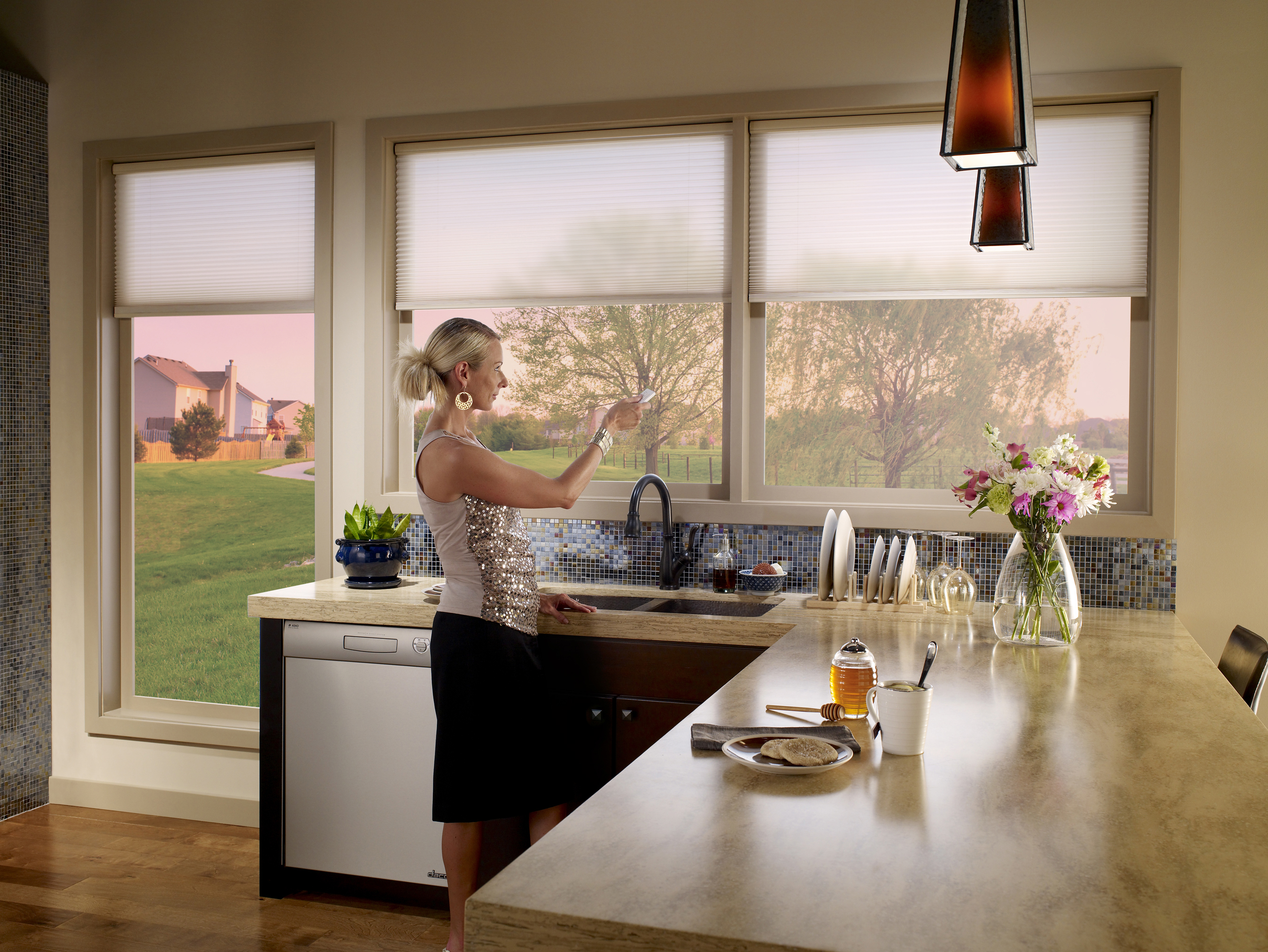 How Can You Experience the Benefits of Motorized Shades?